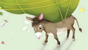 Overladen Donkey