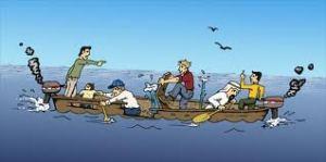 All in same boat