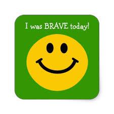 Brave smiley
