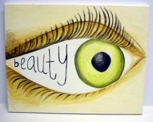 beauty eye of beholder